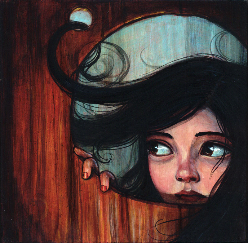 """Knothole"" by Kelly Vivanco"